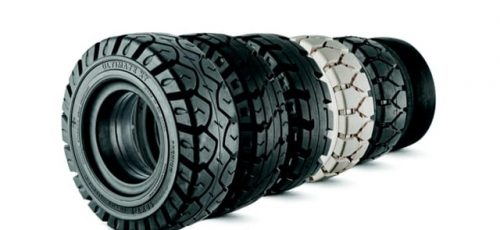 Forklift & Reach Truck Tyres / Wheels